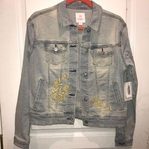 NWT LuLaRoe Harvey Jean jacket - S